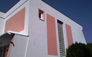 Zateplenie vonkajšej fasády a nanesenie vrchnej omietky