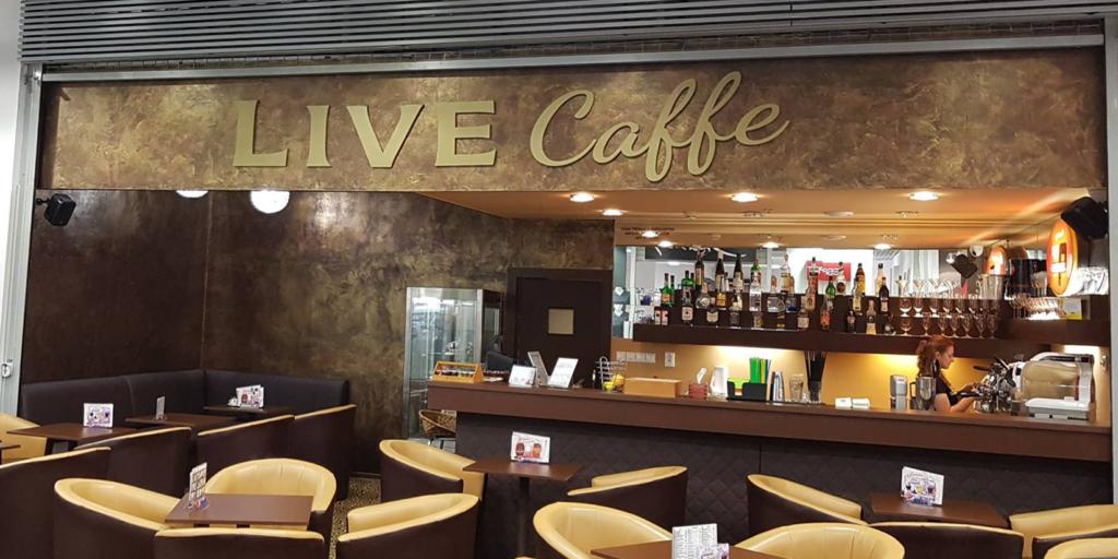 Dizajnová realizácia materiálu METEORE 8 v Cool Caffe