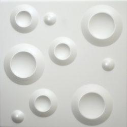 Kráter, 3D panely, montáž 3D panelov, maliarske práce, tapetovanie, lepenie tapiet, maiarske práce, maľovanie